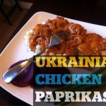 Ukrainian Chicken Paprikash