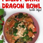 Peanut Satay Dragon Bowl