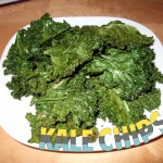 Kale Chips, easy and delicious treat that is healthy!