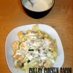 Cheesy Chicken Bacon Cabbage Casserole: it's a mouthful and some