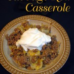 Cabbage Roll Casserole (I know, I know, another cabbage post!)