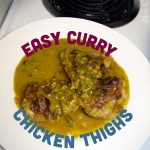 Easy Curry Chicken Thighs