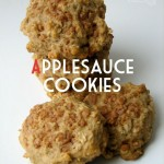 Applesauce Oatmeal Cookies — Toffee Apple option!