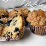 Blueberry Muffins, a birthday treat