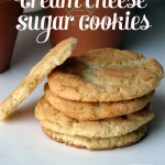 Chewy Rich Cream Cheese Sugar Cookies