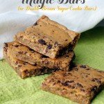 Magic Bars… Double Brown Sugar Cookie Bars