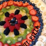 Fruit Pizza, like Momma Crocker makes it